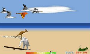 Game chim cánh cụt bay cho android