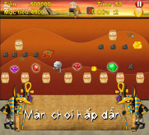 Game dao vang cho android