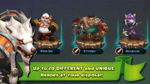Game lâu đài xung đột