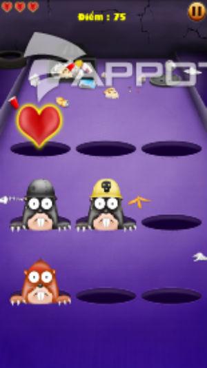 Game  siêu nhân đập chuột