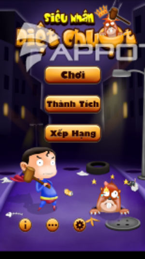 Game siêu nhân đập chuột cho android