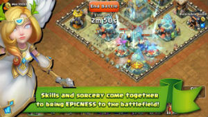 Game lâu đài xung đột cho android