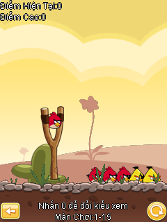 Game angry birds cho điện thoại java