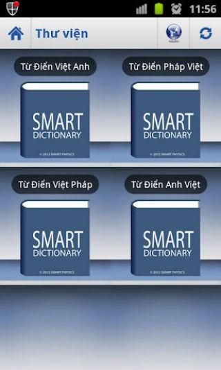 Phần mềm Từ Điển- Việt Hóa Cho Android