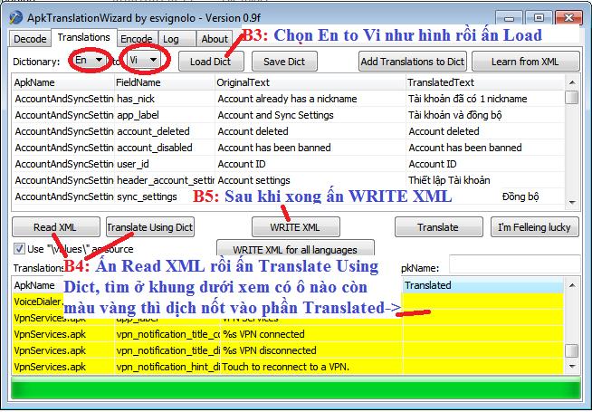 Việt hóa custom rom cho android